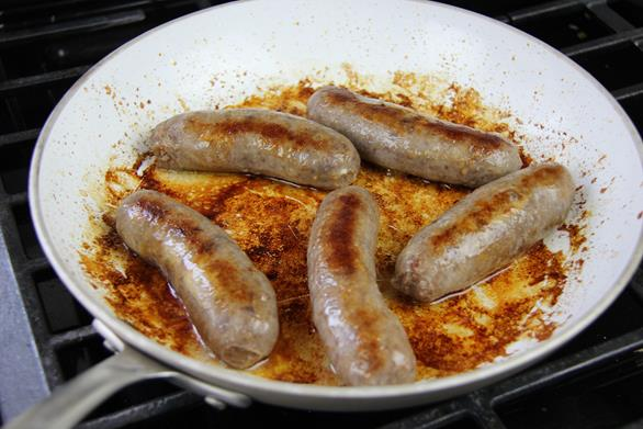 breakfast sausage with peppers recipe (5)
