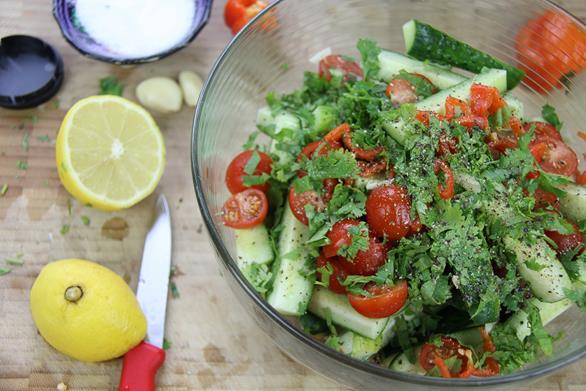 spicy cucumber salad (6)