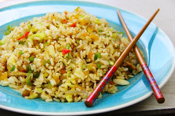Caribbean saltfish fried rice recipe for Rice recipes to go with fish