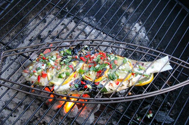 how to make barbecue fish
