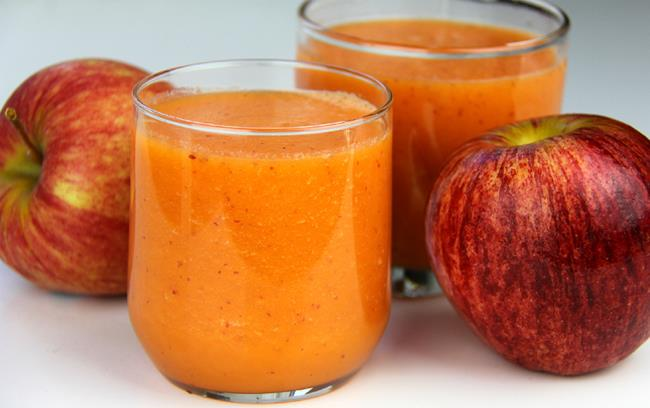 apple carrot smoothie (1)