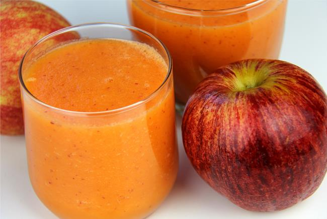 apple carrot smoothie (5)