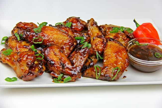 Tamarind Glazed Chicken Wings. | CaribbeanPot.com