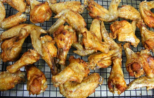 fried chicken wings (5)
