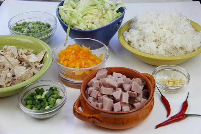 ham fried rice (2)
