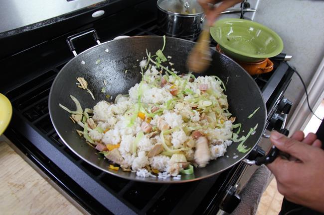 ham fried rice (6)