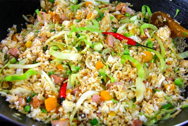 ham fried rice (8)