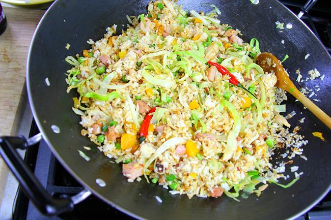 ham fried rice (9)
