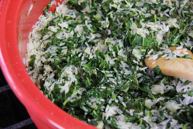 vegetarian spinach rice (6)