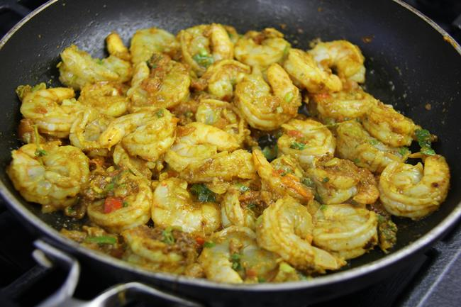 how to cook curry shrimp (6)