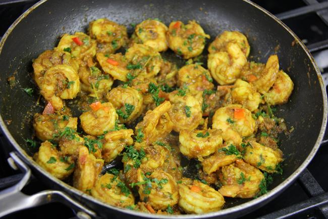 how to cook curry shrimp (7)