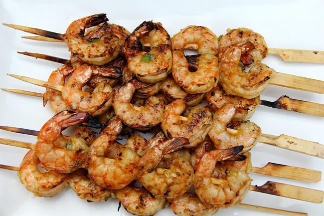 grilled mango shrimp (11)