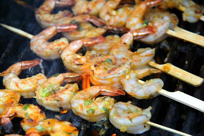 grilled mango shrimp (8)
