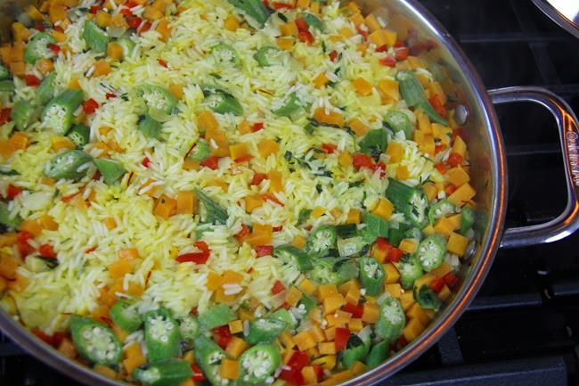 okra rice (8)