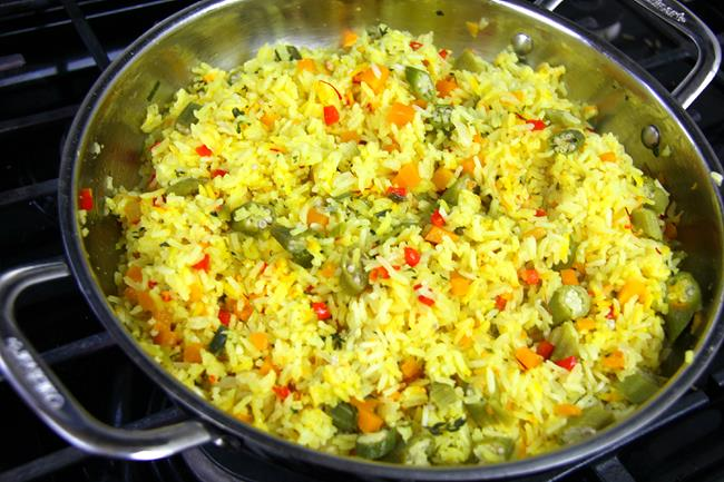 okra rice (9)