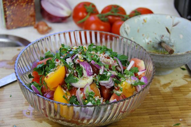 heirloom tomato salad (6)