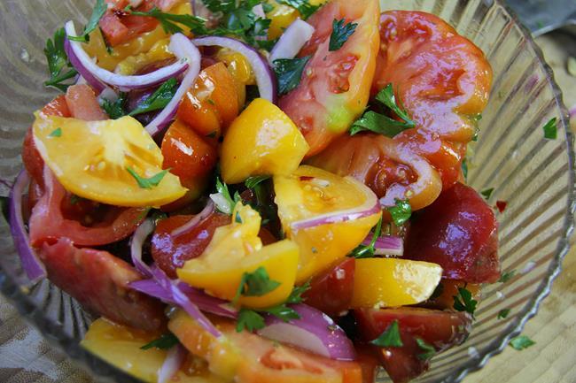 heirloom tomato salad (7)
