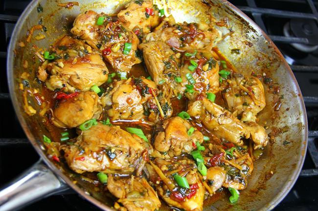 brown stew chicken (7)