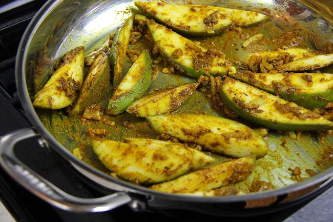 curry fish with mango (12)