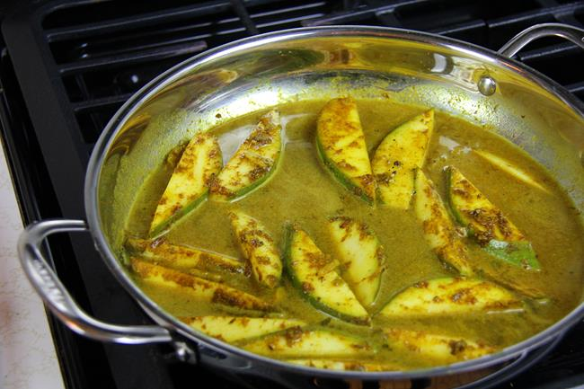 curry fish with mango (13)