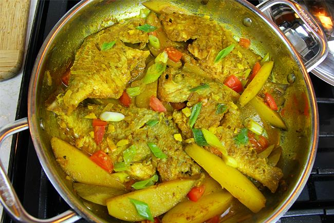curry fish with mango (2)