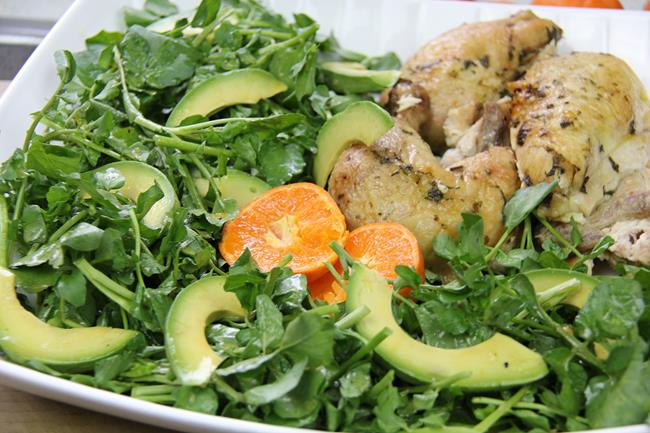 watercress avocado salad (5)