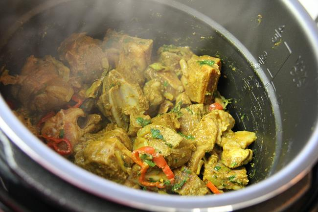 instapot curry goat (6)