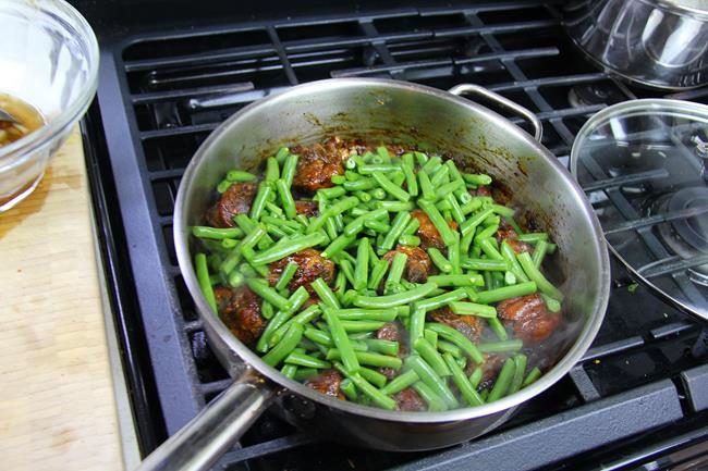 stew chicken with string beans (6)