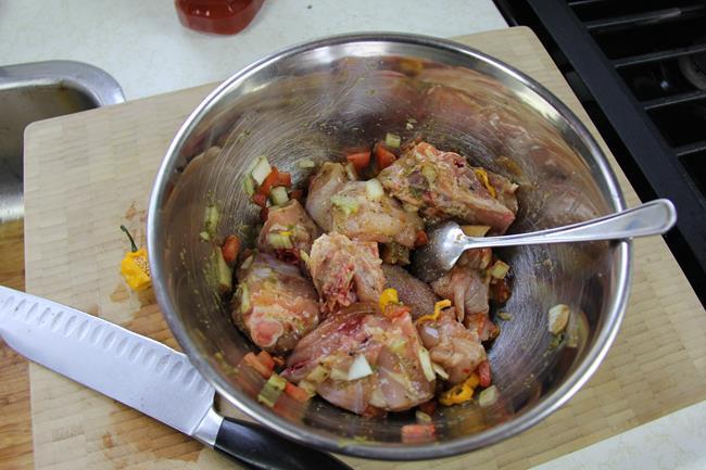 mushroom stewed chicken (1)