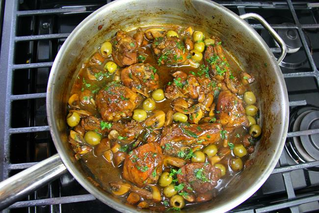 mushroom stewed chicken (10)