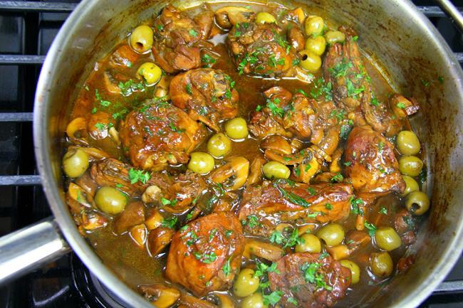mushroom stewed chicken (11)