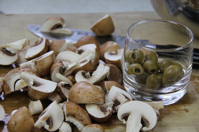 mushroom stewed chicken (2)