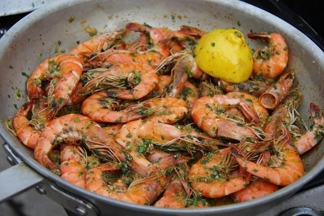scotch bonnet pesto shrimp (9)