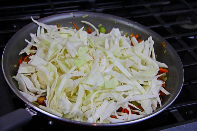 Flavorful Cabbage With Diced Ham Caribbeanpot Com