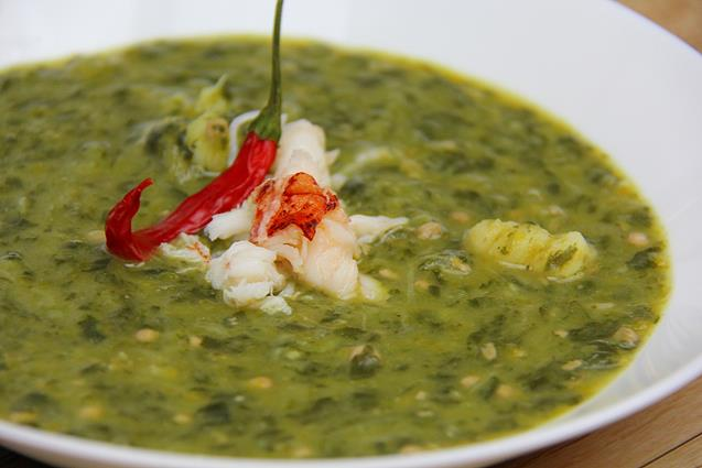 lobster callaloo soup (11)