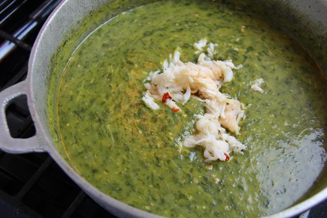 lobster callaloo soup (8)