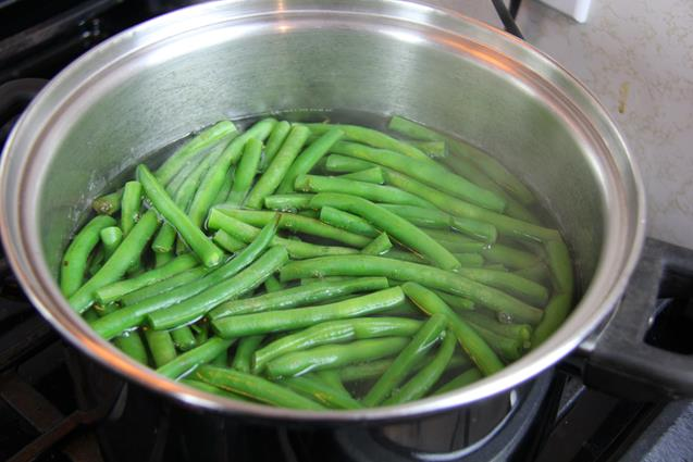 stirfry beans with chicken (2)