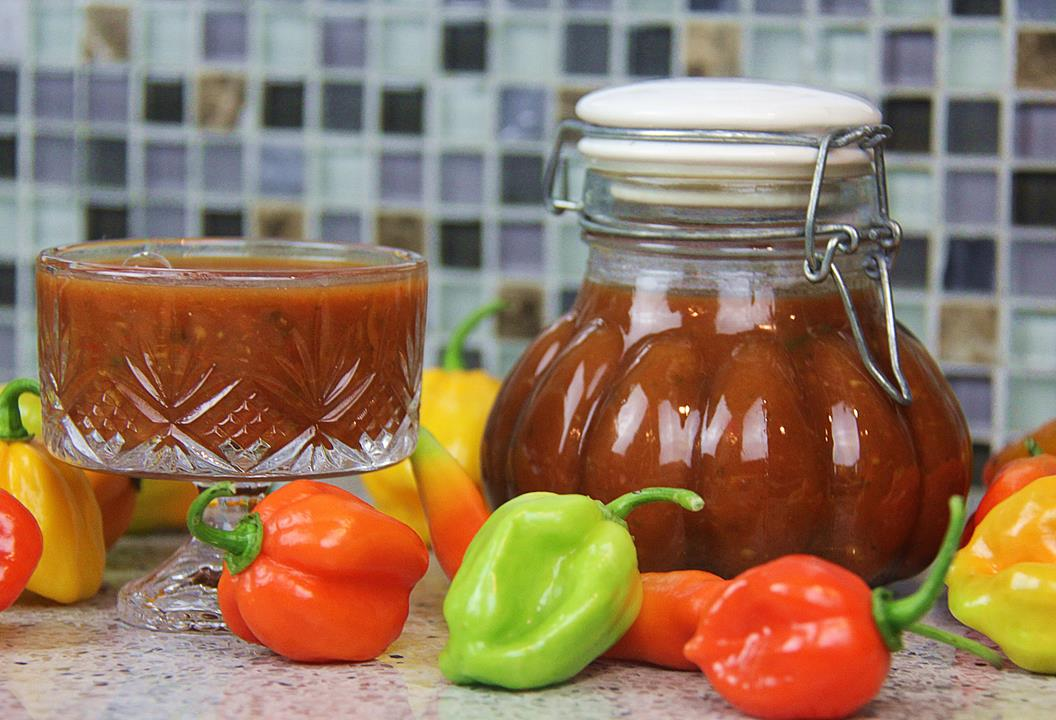 Tamarind Peppersauce (hot sauce + wing sauce).